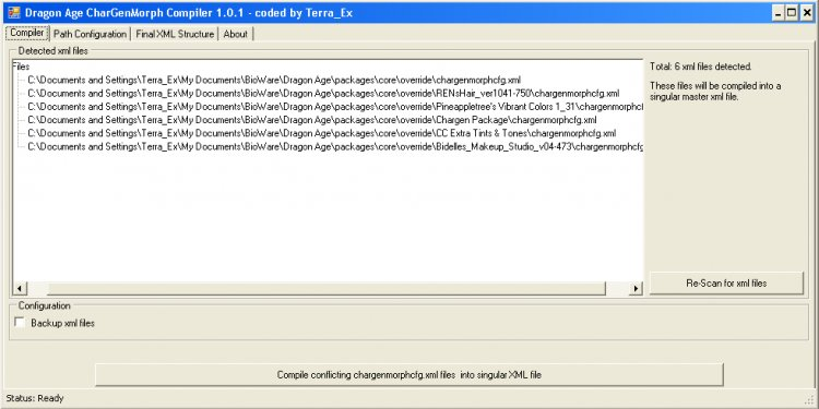 3. CharGenMorph Compiler