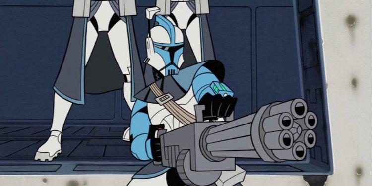 Heavy Gunner Clone Commander