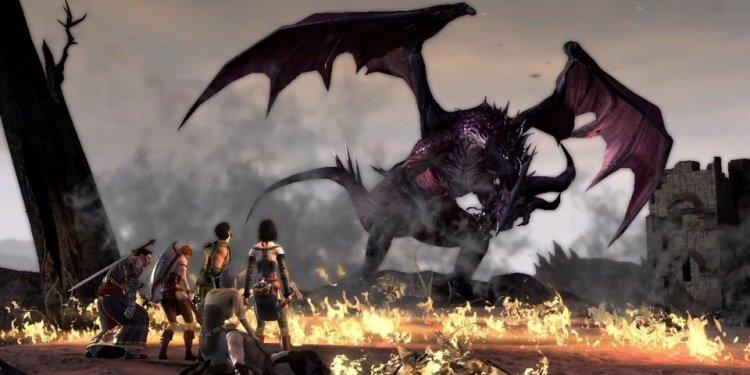 Flemeth dragon
