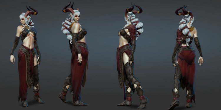 Qunari - Dragon Age contest