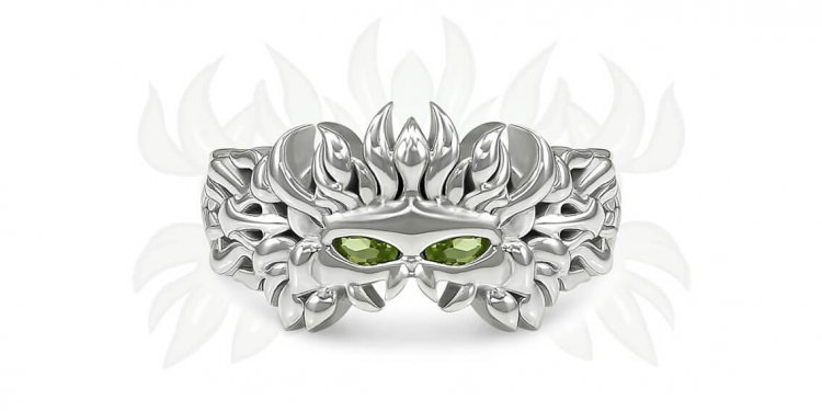 Dragon Age small Silver Rings