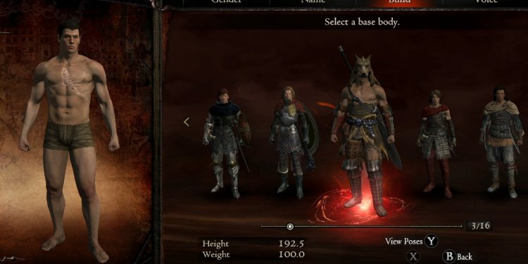 Dragon Age 2 create a character