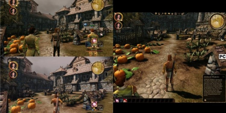 Dragon Age Origins Xbox 360 VS PC
