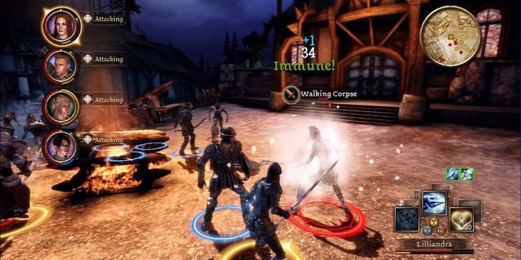 Dragon Age Origins PS3 Gameplay