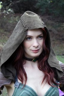 Felicia Day plays Tallis, an assassin just who