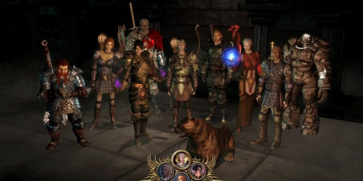 Dragon Age Origins playable characters
