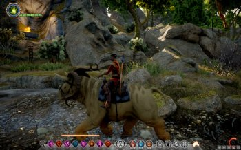 the unique mounts - its size ensures it with quite a resistance - Mounts - Exploration of the game world - Dragon Age: Inquisition Game Guide & Walkthrough