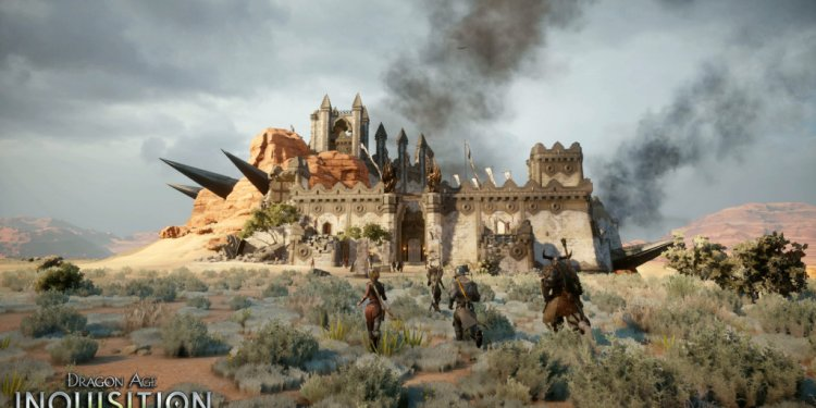 Dragon Age Inquisition stronghold